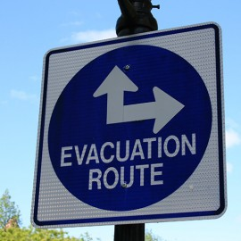 DSTL – EVACUATION PLAN FOR ENCLOSED AREA